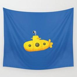 Yellow Submarine Wall Tapestry