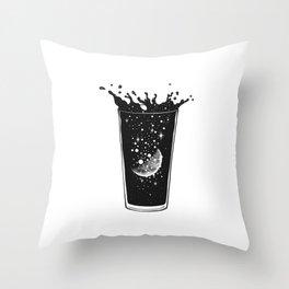 A Moon Slice Throw Pillow