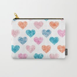 Cute Hearts X .2 Carry-All Pouch