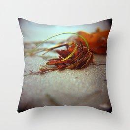 Sea Ranch seaweed I Throw Pillow
