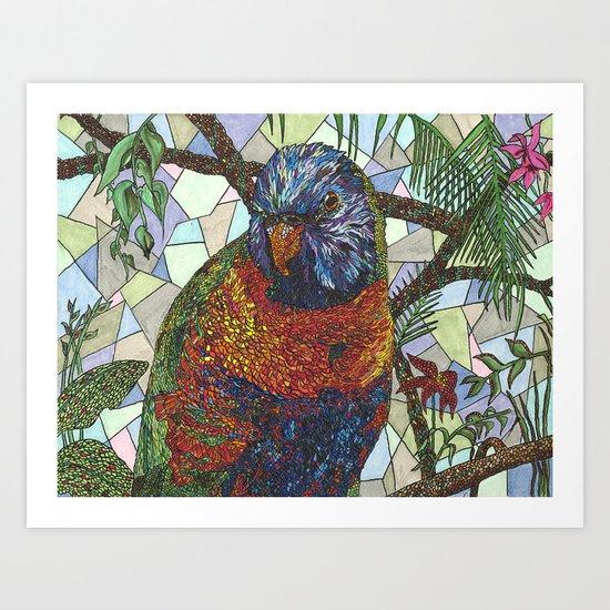 The Bird Art Print