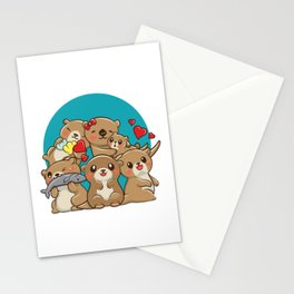 Otter Brothers Stationery Cards