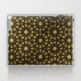 Design illustration based on traditional oriental graphic motifs Laptop & iPad Skin