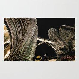 Petronas Twin Towers Rug