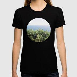 sea view through the bush T-shirt