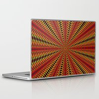 spanish Laptop & iPad Skins featuring Spanish sun by Bubblemaker