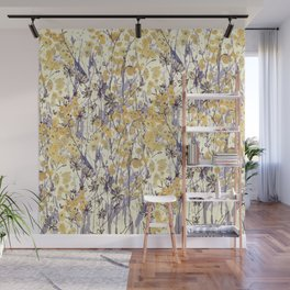 New England Wildflowers Wall Mural