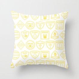 Choose Your Class: Tile Throw Pillow