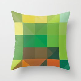 Minimal/Maximal 4 Throw Pillow