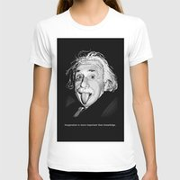 einstein T-shirts featuring Einstein by Michelena