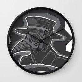Plagued Wall Clock
