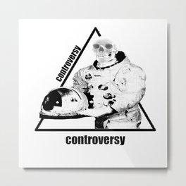 Controversy Triangle Metal Print