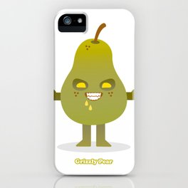 'Grizzly Pear' Robotic iPhone Case