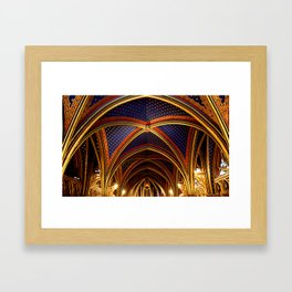 Sainte Chapelle  Framed Art Print