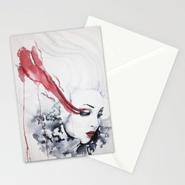 Hurtful Tears Stationery Cards