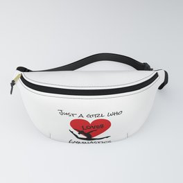 Gymnast Just a Girl Who Loves Gymnastics Fanny Pack