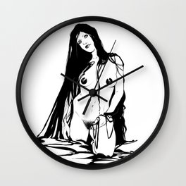 Morochas 3 Wall Clock