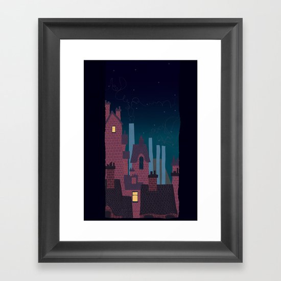 Trackless Jungle Framed Art Print