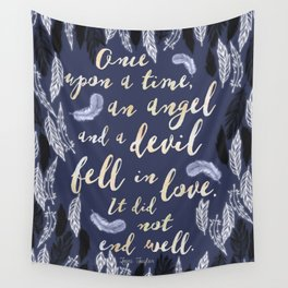 Daughter of Smoke and Bone quote design Wall Tapestry