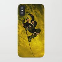 snowboarding iPhone & iPod Cases featuring Snowboarding #1  by Bruce Stanfield