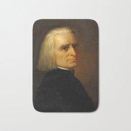 Franz Liszt (1811-1886) by Carl Ehrenberg in 1868 Bath Mat