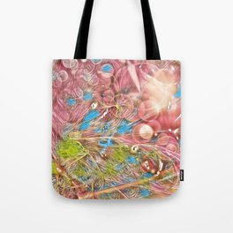 The Joy of Pink Tote Bag