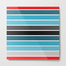 stripes-4 Metal Print