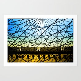 Amsterdam_Museum Art Print