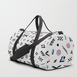 Smiley faces all day Duffle Bag