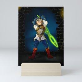 A Link to the Oni Mini Art Print