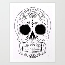 DEADHEAD CANDY Art Print