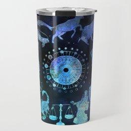 As Above, So Below - Zodiac Illustration Travel Mug