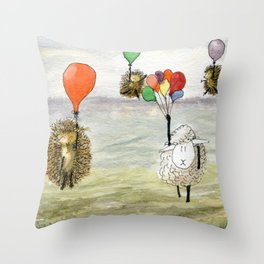 We Haven't Thought This Through Throw Pillow