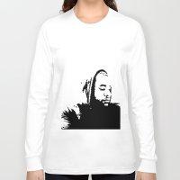 clear Long Sleeve T-shirts featuring Clear  Gangsta by NicholasB