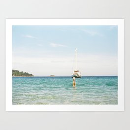 The Best Day of Summer  Art Print