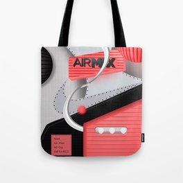 Air Max Abstract 90 Sneaker Tote Bag