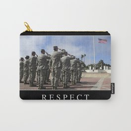 Respect: Inspirational Quote and Motivational Poster Carry-All Pouch