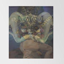 Flora Erotica Throw Blanket