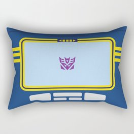 Soundwave Transformers Minimalist Rectangular Pillow