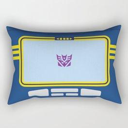 Soundwave Transformers Minimalist Rectangular Pillow