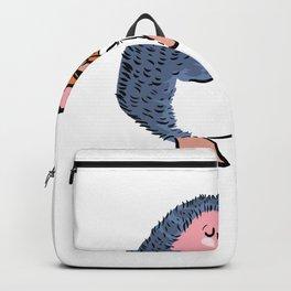 Hedgehog Violin Violin Player Gift Backpack