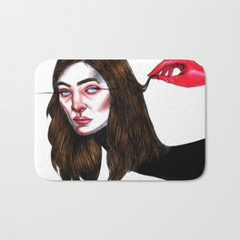 Lorde // Ribs Bath Mat