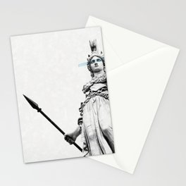 Athena the goddess of wisdom Stationery Cards