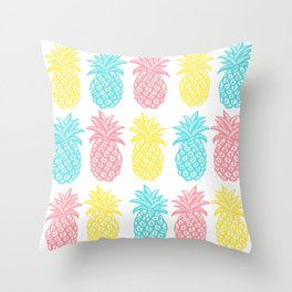 Pineapple Tropic Throw Pillow