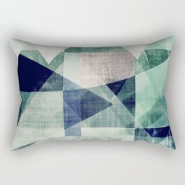 art, wall art, home decor, abstract prints, large prints, abstract print, geometric wall art, modern Rectangular Pillow