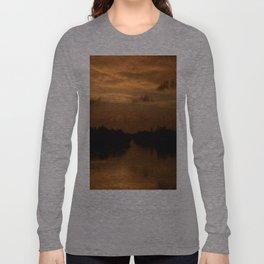 sunset in florida Long Sleeve T-shirt