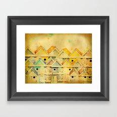 Bird Town 023 Framed Art Print