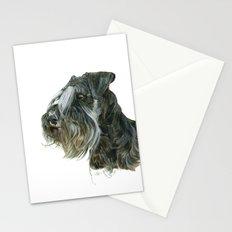 Schnauzer Stationery Cards