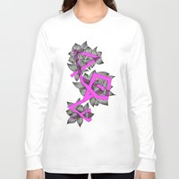 doodle Long Sleeve T-shirts featuring Doodle by Milonade