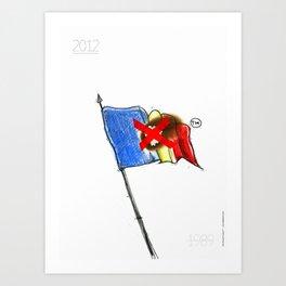 Timisoara '89 Art Print